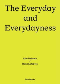 The Everyday and Everydayness