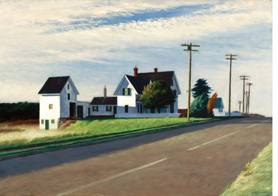 The Experience and sensation of isolation in 'Edward Hopper: A Fresh Look on Landscape'
