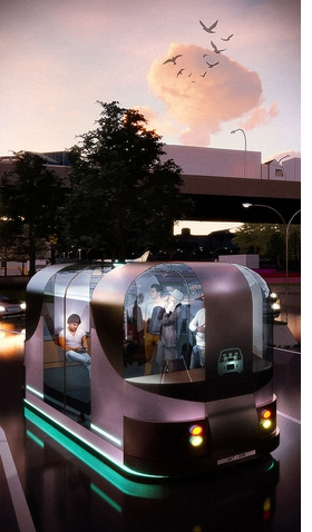 Featured image is reproduced from 'The Future of Transportation.'