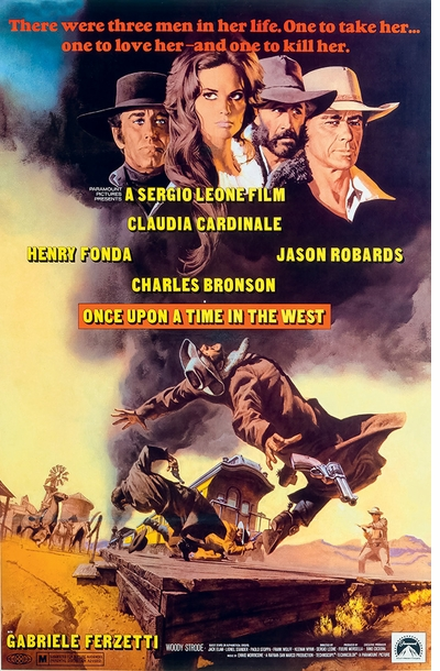 The greatest book ever made about 'Once Upon a Time in the West'—the greatest Western