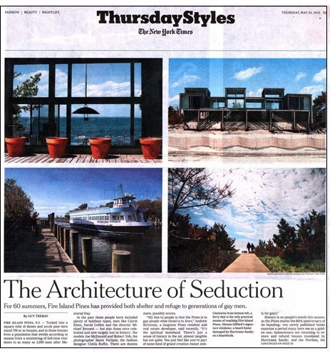 The New York Times' Guy Trebay Reviews Two New Books on the Golden Era of Fire Island Pines