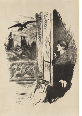 Featured image is reproduced from 'The Raven / Le Corbeau / The Raven.'