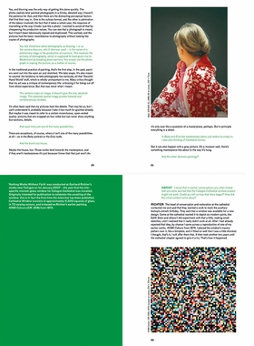 Spreads from 'The Richter Interviews.'