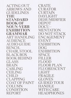 The Standard Book of Noun-Verb Exhibition Grammar