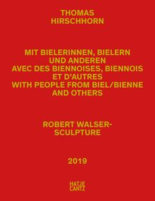 Thomas Hirschhorn: Robert Walser-Sculpture