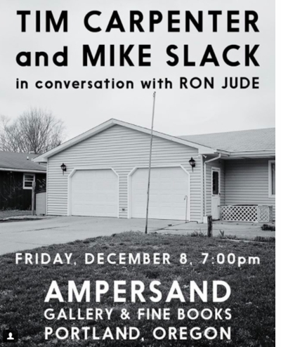 Tim Carpenter and Mike Slack in conversation with Ron Jude at Ampersand