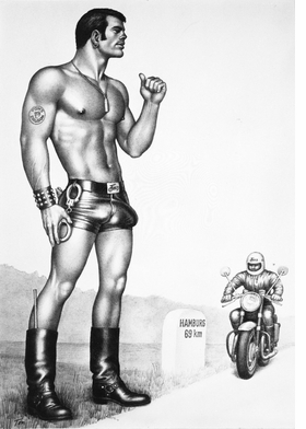 Featured image is reproduced from 'Tom of Finland: Made in Germany.'