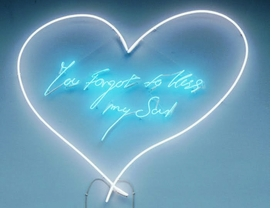 """Featured image, Tracey Emin's <i>You Forgot to Kiss My Soul</i>, 2001, is reproduced from <a href=""""9781853322938.html"""">Love is What You Want</a>."""