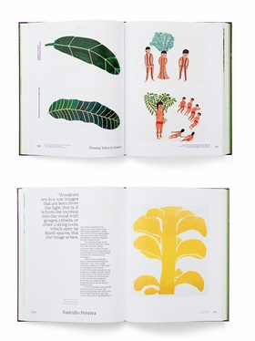 Featured spreads are from 'Trees.'