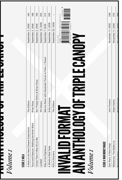 Triple Canopy's Invalid Format launches in New York City; Reviewed in The New York Times