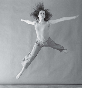 Featured photograph, by Lois Greenfield, is reproduced from 'Trisha Brown: Choreographing Life.'