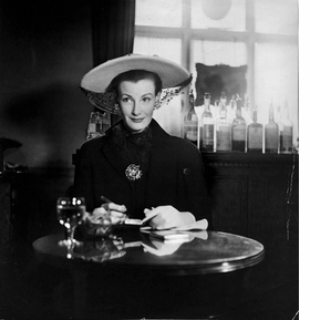 """Featured image is captioned in the book: """"Model Wenda Rogerson at the Fine Arts Club, Savile Row, Mayfair, <I>Vogue</I>, June 1948. Rogerson was married to Deakin's hated <I>Vogue</I> rival, Norman Parkinson."""""""