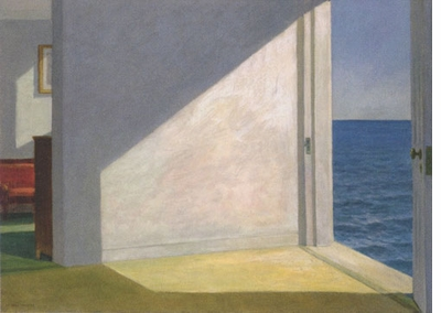 Urgent Light: Hopper's 'Rooms by the Sea' Featured in the New York Times