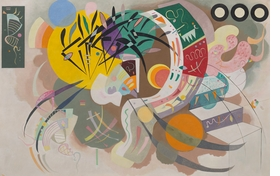 Featured image is reproduced from 'Vasily Kandinsky: Around the Circle'.
