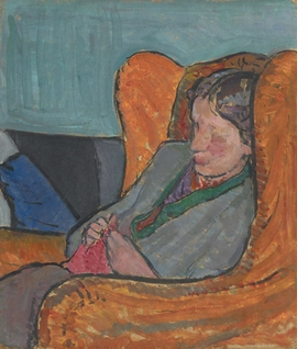 Featured image is reproduced from <I>Virginia Woolf: Art, Life and Vision</I>.
