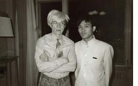 "Featured image, captioned ""Andy Warhol and Bellboy, 1982"", is reproduced from <I>Warhol in China</I>."