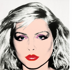"""Blondie"" (1981) is reproduced from 'Warhol Women.'"
