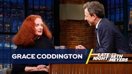 Watch Grace Coddington on Late Night with Seth Meyers