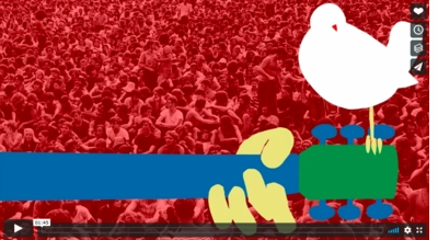 Watch the great trailer for Michael Lang's official 50th Anniversary 'Woodstock' book!