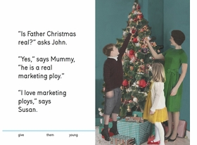 Featured spread is reproduced from 'We Do Christmas.'