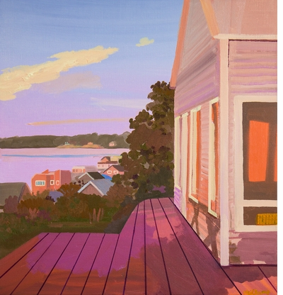 We're holding on to the last rays of summer sun with Daniel Heidkamp's work in 'Landscape Painting Now'