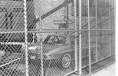 What is inside, what is out? Lee Friedlander: Chain Link
