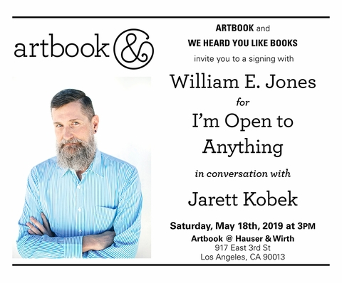 William E. Jones conversation and book signing at Artbook at Hauser & Wirth Los Angeles