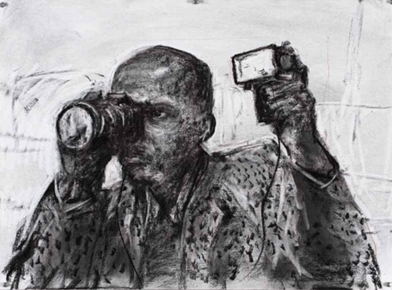 William Kentridge: Drawing for the film 'Other Faces' (2011)