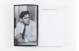 Featured spread is from 'William N. Copley: Selected Writings.'