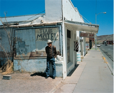 """Wim Wenders: """"Hot Springs,"""" Truth or Consequences, New Mexico (1983)"""