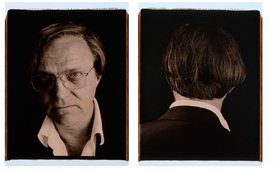 """Featured image is """"Untitled (Face #142 Robert)"""", """"Untitled (Face #143 Robert)"""", 2005, Polaroid Prints, 24 x 20"""" each."""