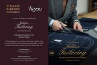 Yoshimi Hasegawa to launch 'Italian Tailoring' with Simone Ubertino Rosso & Justin MacInerney at Rizzoli