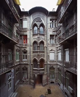 Featured image is reproduced from 'Yves Marchand & Romain Meffre: Budapest Courtyards.'