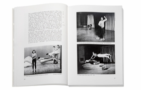 A spread from 'Yvonne Rainer: Work 1961–73.'