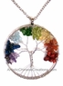 Tree of Life - Necklace - Semi Precious Stones #54