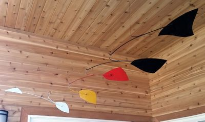 """• PAINTED METAL MOBILES<span style=""""color:white"""">"""