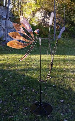 DRAGONFLY Outdoor Sculpture