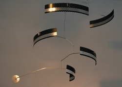 COURIER BLACK-TIE Hanging Mobile