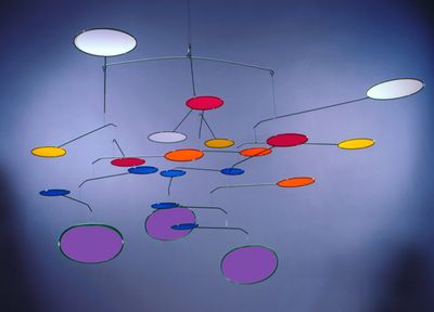 TRI-LUMEN PURPLE Hanging Mobile