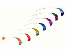 MINI CHAMELEON FEATHER Hanging Mobile