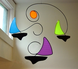 SAIL BOATS Hanging Mobile