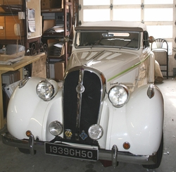 • View the 1939 Hotchkiss Car in the Studio