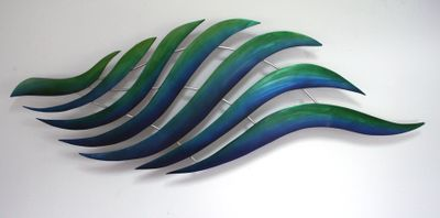 """Wave"" Wall Piece"