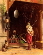 A Cairene Amorer painting reproduction, Jean-Leon Gerome