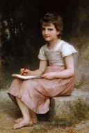 A Calling (Une vocation) painting reproduction, William A. Bouguereau