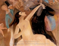 A Festive Evening painting reproduction, Alice Bailly