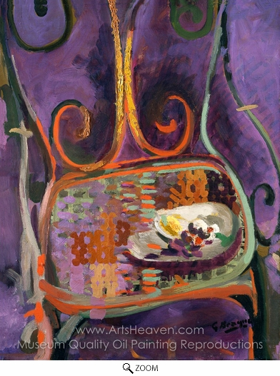 Georges Braque, A Garden Chair oil painting reproduction