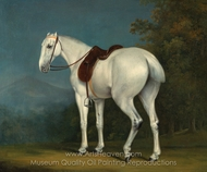 A Lady's Grey Hunter painting reproduction, Jacques Laurent Agasse