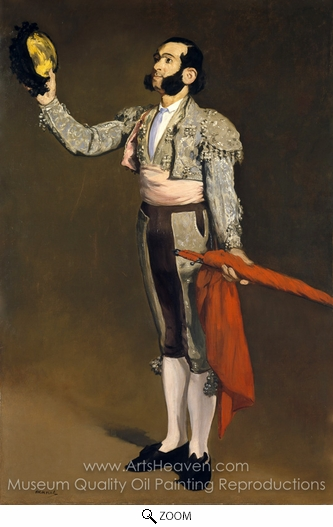 Édouard Manet, A Matador oil painting reproduction
