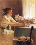 A Meadow Flower painting reproduction, John White Alexander